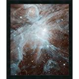 Canvas Art Framed 'This Image Shows The Orion Nebula, a Nebula Where Stars are Born. Spitzer.'