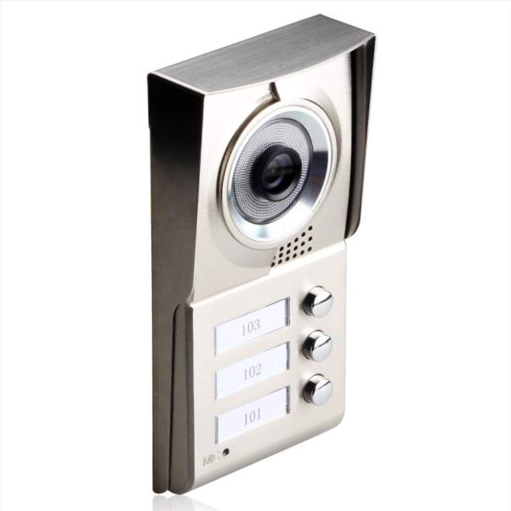 TONGTONG Video Doorbell, Multifunktion Smart Doorbell Camera 720 HD Wi-Fi Security Camera Real-Time Talk and Video, Night Vision, PIR Motion Detection Für IOS Und Android