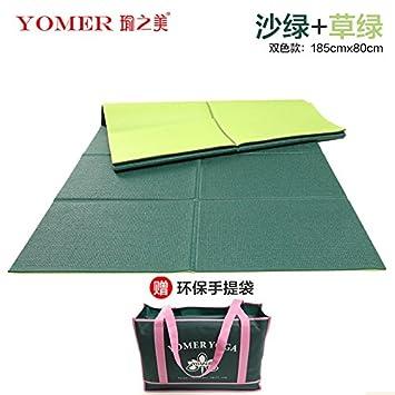 YOOMAT Hot Yoga Mat Arranque Antideslizante Mat Gimnasia ...