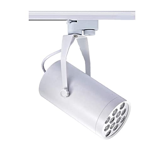 50pcs 3 years warranty epistar chip dimmable led track light 12w