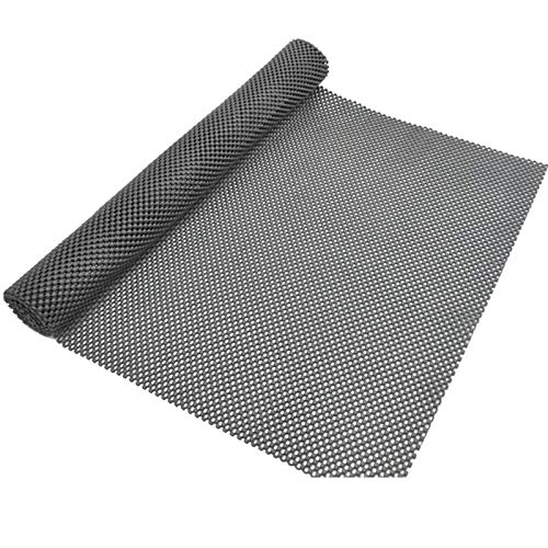 Trunk Mat for Cars Anti Slip Mat Cargo Liner Protector Durable Elastic Offers Protection Easily Cuttable to Different Sizes Universal Fit Multiple Use Car Roof Protector, Rug Non Slip Mat Pad (Black)