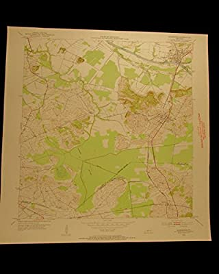 Livermore Kentucky McLean Green River Ohio vintage 1953 USGS Topographical chart