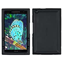 Bobj for ASUS ZenPad Z380, P022 (Z380C, Z380CX, Z380KL, Z380KNL, Z380M, P00A, P024) – BobjGear Protective Tablet Cover (Bold Black)