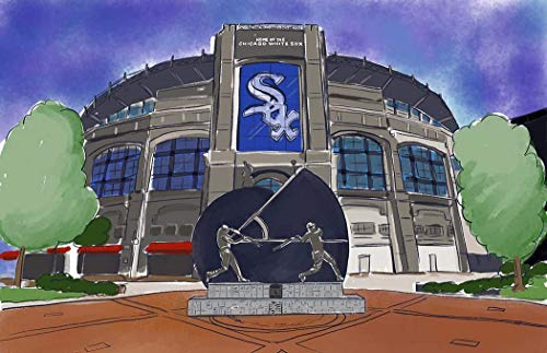 Chicago White Sox Guaranteed Rate Field Art ()