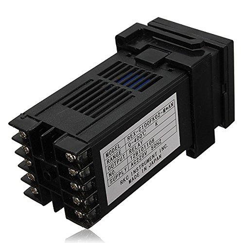 REX-C100 Dual PID Digital Celsius Temperature Controller Thermocouple