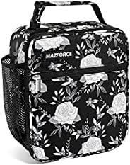 MAZFORCE Original Lunch Box Insulated Lunch Bag - Tough & Spacious Adult Lunchbox to Seize Your Day (Lunch
