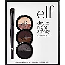 e.l.f Day To Night Smoky 4 Piece Eye Set! Includes 3 Eye-Shadow Duos And 1 Eye-Shadow Brush!