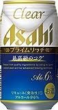 アサヒ クリアアサヒ プライムリッチ 350ml缶×24本