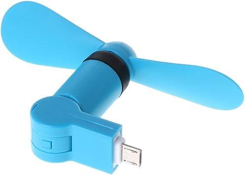 fogun – Ventilador USB Portable, 180 grados drehender Micro USB ...