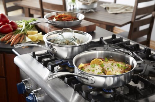 Calphalon Tri-Ply Stainless Steel 13-Piece Cookware Set by Calphalon (Image #8)'