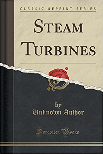 Book Steam Turbines (Classic Reprint)