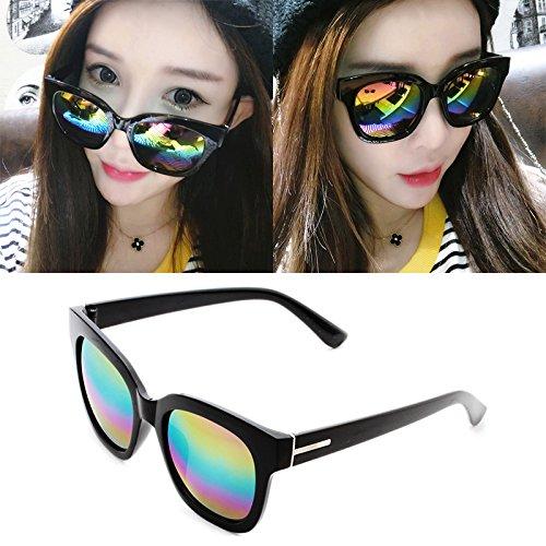 nouveau cycle des lunettes de soleil madame le visage rond korean rétro - yeux star des lunettes des lunettes de soleil la maréeboîte noire white mercure (tissu) TaK47