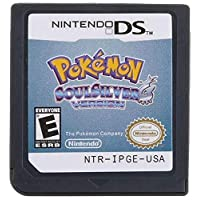 Pokemon Soul Silver Version Game Card Compatible with Nintendo DS/NDS/NDSL/NDSi/3DS/2DS Version (Reproduction Version)