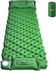 HOMCA Sleeping Pad for Camping with Night Light