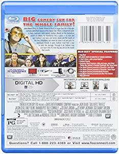 Gulliver's Travels Blu-ray 3d from 20th Century Fox