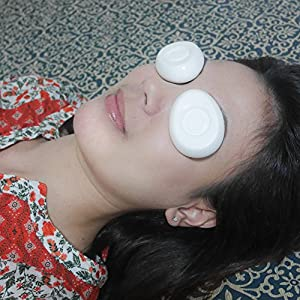Eye Care Mask Sleep Super-Smooth Before Sleeping Firming Eye Ceramic Cool Health Sleep Spa Relax
