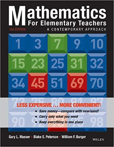 Mathematics for elementary teachers binder ready version a isbn 13 978 1118487006 fandeluxe Image collections