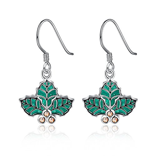 iWenSheng Hypoallergenic Christmas Earrings Holiday