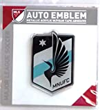 Minnesota United FC Premium Raised Acrylic Auto Emblem Decal Soccer Football Club