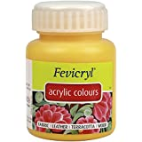 Fevicryl Acrylic Colour (500 ml): Golden Yellow