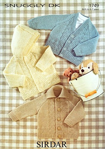 27a5a5451bb0 Sirdar Snuggly DK Baby Knitting Pattern 1749  Amazon.co.uk  Kitchen ...