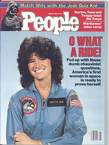 People Weekly Magazine June 20, 1983 (Sally Ride on Cover)