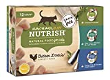 Rachael Ray Nutrish Chicken Lover's Variety Pack Wet Cat Food, 2.8 Ounce Cups (12 Count) Larger Image