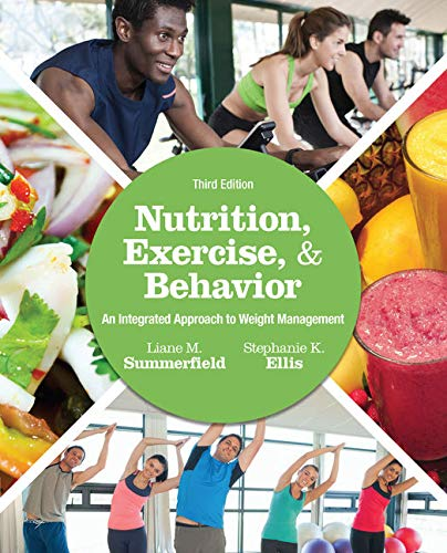Pdf Health Nutrition, Exercise, and Behavior: An Integrated Approach to Weight Management