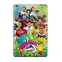 UrSkLtm5470hoIJQ Tpu Case Skin Perfect Protector For Ipad Mini/mini 2 2014 Fifa World Cup Stars With Nice Appearance