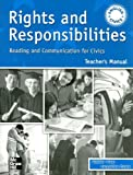 Rights and Responsibilities Teacher's Manual, Stephen Sloan and Jacqueline Flamm, 0072863501
