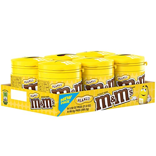 M&M'S Peanut Chocolate Candy To-Go Bottles 3.5-Ounce Bottle (Pack of (Fun Games For Halloween Online)