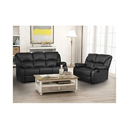 Astonishing Amazon Com Zhic Recliner Sofa Sets For Living Room Pu Pabps2019 Chair Design Images Pabps2019Com