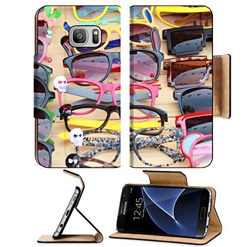 Luxlady Premium Samsung Galaxy S7 Flip Pu Leather Wallet Case IMAGE ID: 25353305 Shop colorful eyewear in the - Jordan Eyewear