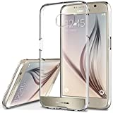 Galaxy S6 Case, OBLIQ [NaKED SHIELD][Gold Platinum] Armor Scratch Protection Clear Case for Samsung Galaxy S6
