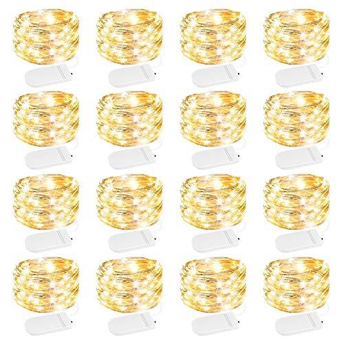 16 Pack Fairy Lights