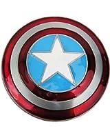 Marvel Comics CAPTAIN AMERICA Metal Logo Shield BELT BUCKLE