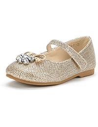 Girl's Toddler/Little Kid/Big Kid Aurora-03 Mary Jane Ballerina Flat Shoes