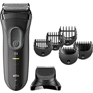 Braun Series 3 Shave & Style 3000BT 3-in-1 Electric Shaver / Razor for Men with Precision Beard Trimmer
