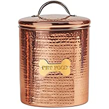 King Charles Copper Dog Canister | 10-Inch