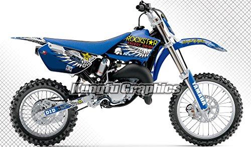 [해외]Kungfu 도표 2002-2014 년 Yamaha YZ85 완전한 Motocross 도표 Decal 장비/Kungfu Graphics 2002-2014 Yamaha YZ85 Complete Motocross Graphic Decal Kit