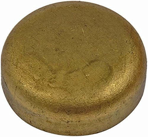Autograde 565-011 Brass Cup Expansion Plug 5//8 In Dorman SC Height 0.230