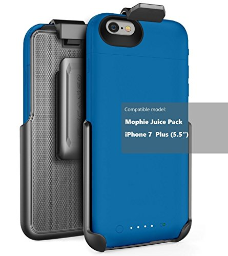 Encased Belt Clip Holster fits Mophie air and Mophie Plus Juice Pack Battery Case - iPhone 7 Plus (5.5