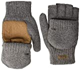Outdoor Research Men's Lost Coast Fingerless Mitts, Pewter, Large
