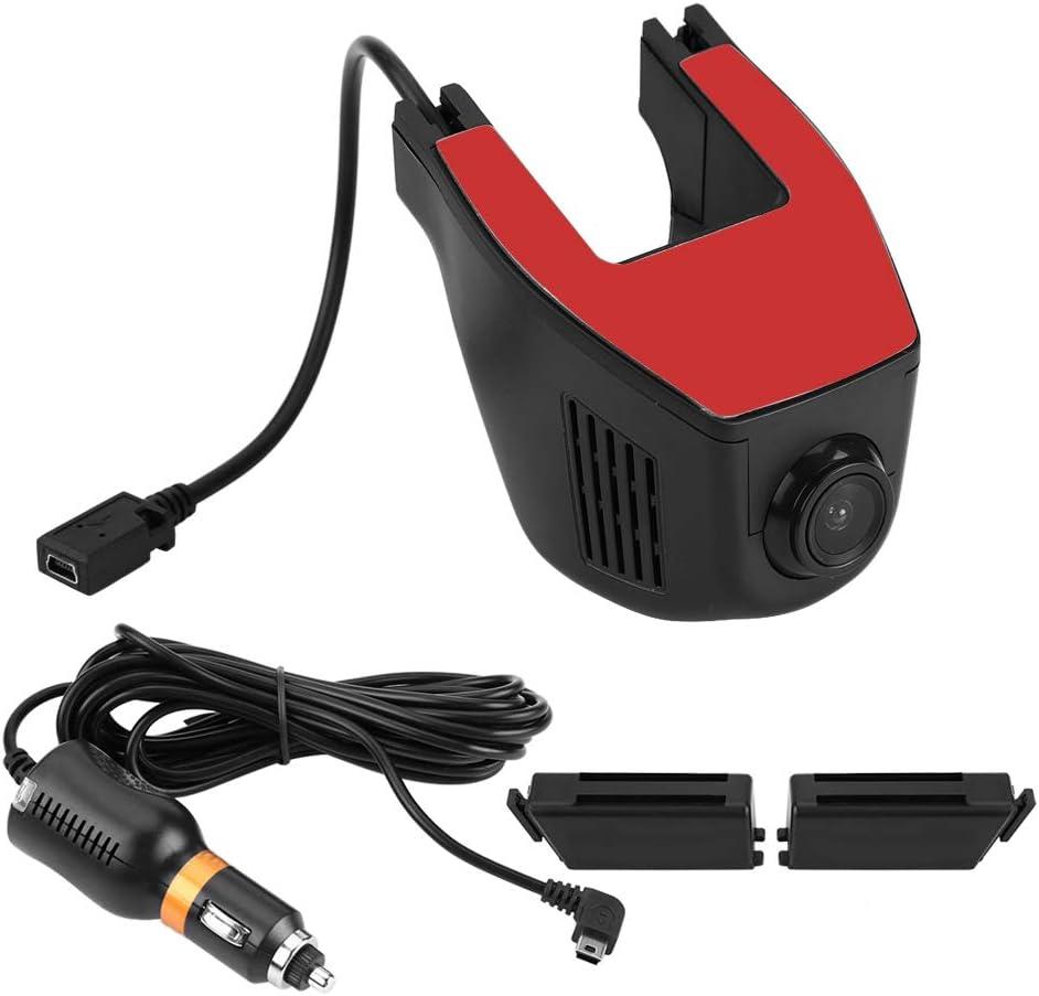 EBTOOLS Grabadora de DVR para coche, Grabadora de video WiFi Full HD 1080P DVR Grabadora de conducción de cámara de tablero