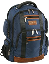 Peterson fits Most 15-Inch Laptop and Notebook Backpack, Navy, One Size