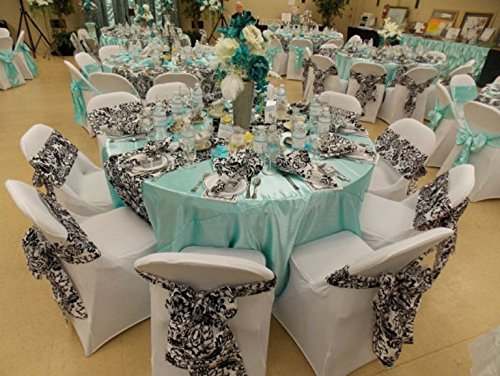 Incroyable Tiffany Blue Tablecloth 120 Round Floor Length Table . Great For Wedding  Birthday Dinner Or Holiday