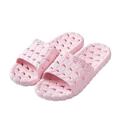 2551130cec1c03 Women Men Slippers Bathroom Sandals Soft Plastic Indoor Shower Slide Non  Slip