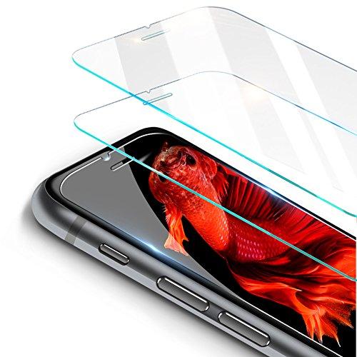 寄託縁石つぶやき【2枚】Kaweno iPhone 8/7/6/6s用 強化ガラス液晶保護フィルム【落としても割れない 業界最高硬度9H】【ワンタッチ貼付け/ケースと干渉せず】3D Touch対応/飛散防止/指紋防止/ 2.5D アイフォン8/アイフォン7/アイフォン 6 6s ガラスフィルム 超薄0.26mm 保護シート(iPhone 8/7/6/6s)