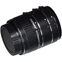 Neewer 12-20-36mm Macro Automatic Extension Tube Set DG for Canon EOS Cameras Such as 1d Mark II,III,IV,5D Mark II,7D,10D,20D,30D,40D,50D,300D,350D,401D,0D,500D,550D,650D,700D,1000D