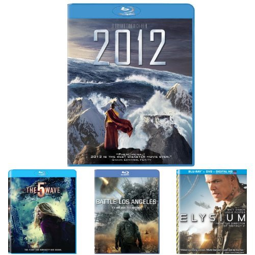 2012 + The 5th Wave + Battle: Los Angeles + Elysium